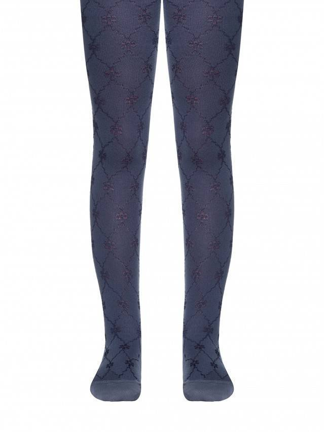Children's tights CONTE-KIDS BRAVO, s.116-122 (18),375 dark denim - 1
