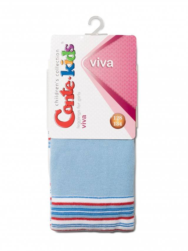 Leggings for girls CONTE-KIDS VIVA, s.128-134, 007 blue - 2