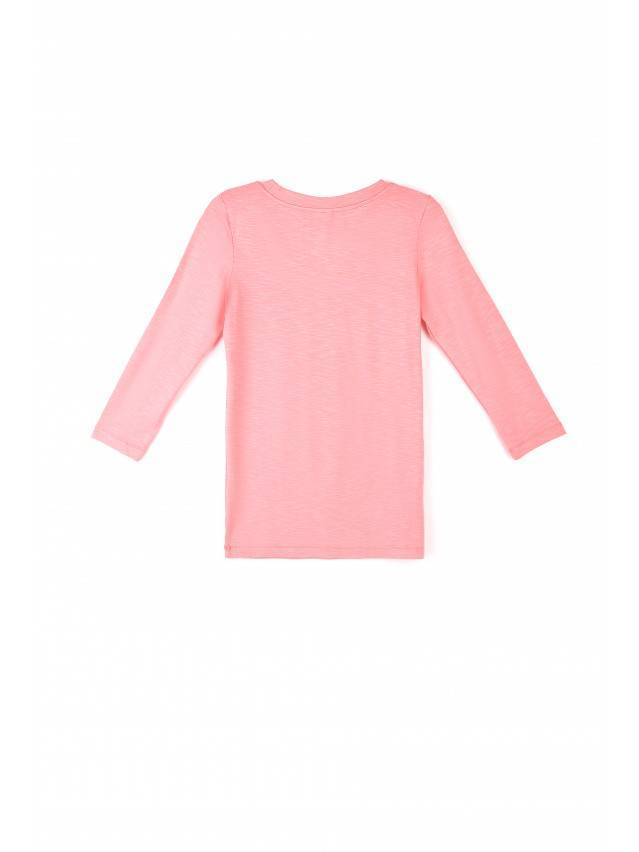 Women's polo neck shirt CONTE ELEGANT LD 478, s.158,164-100, coral red - 3