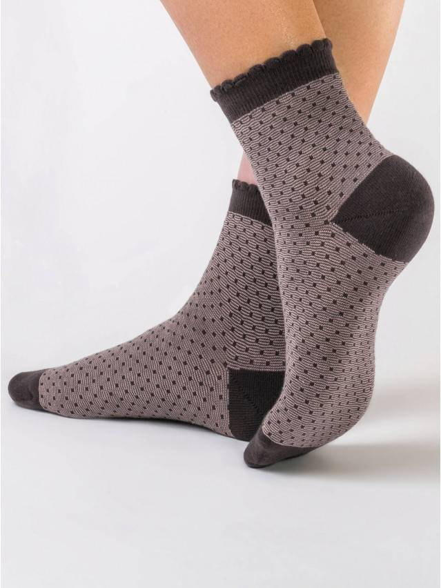 Women's socks CONTE ELEGANT CLASSIC, s.23, 064 coffee - 1