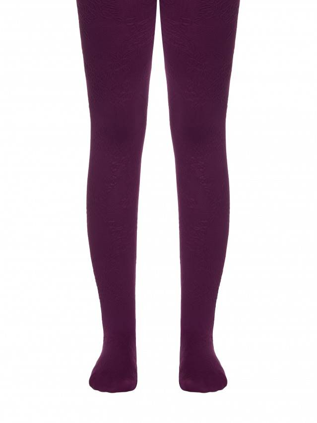 Fancy children's tights CONTE ELEGANT MAGGIE, s.104-110, cherry - 1