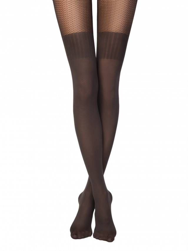 Women's tights CONTE ELEGANT JACLIN, s.2, grafit - 1