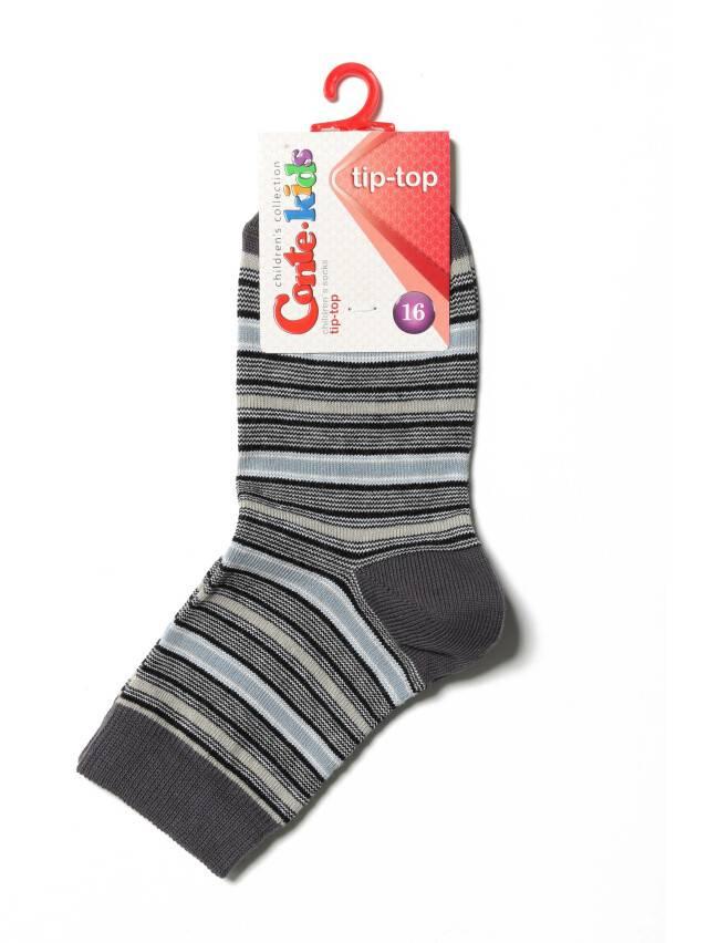 Children's socks CONTE-KIDS TIP-TOP, s.16, 195 grey - 2