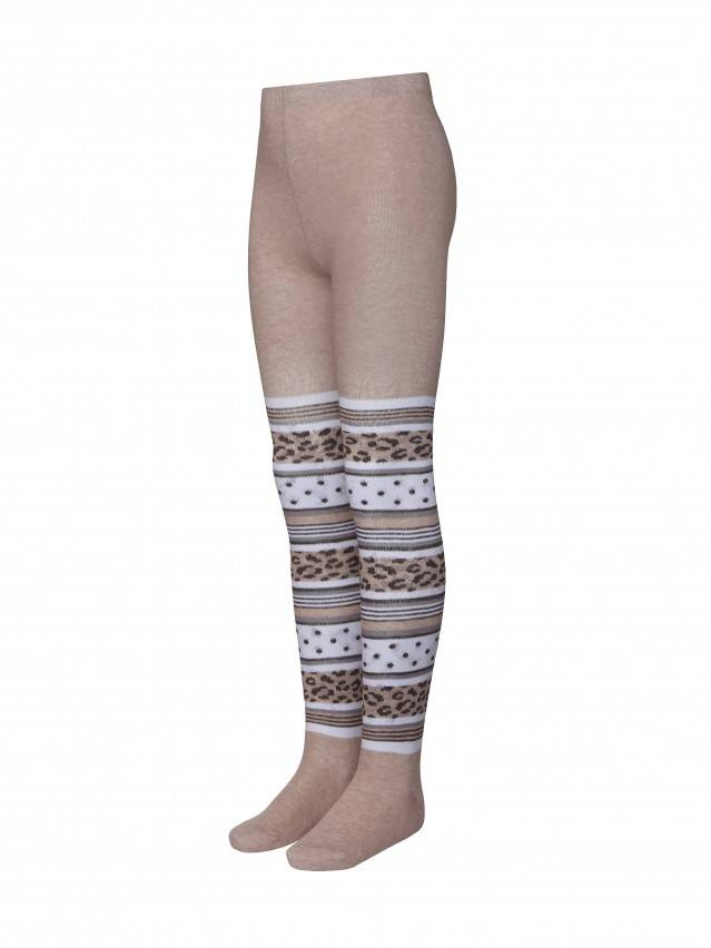 Children's tights CONTE-KIDS TIP-TOP, s.116-122 (18),402 beige - 1