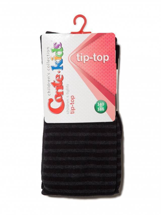 Children's tights CONTE-KIDS TIP-TOP, s.140-146 (22),350 black - 1