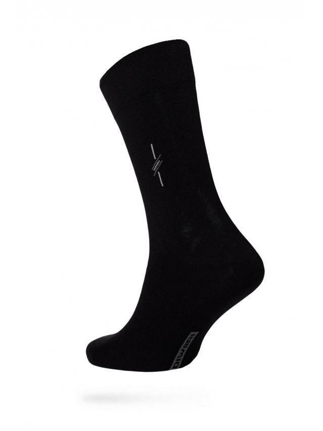 Men's socks DiWaRi OPTIMA (All seasons),s. 40-41, 020 black - 1