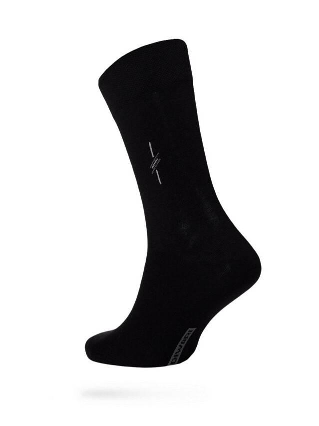 Men's socks DiWaRi OPTIMA (All seasons),s. 40-41, 020 black - 1