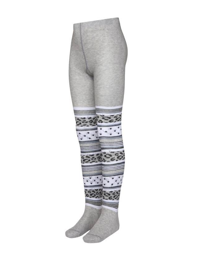 Children's tights CONTE-KIDS TIP-TOP, s.116-122 (18),402 grey - 1