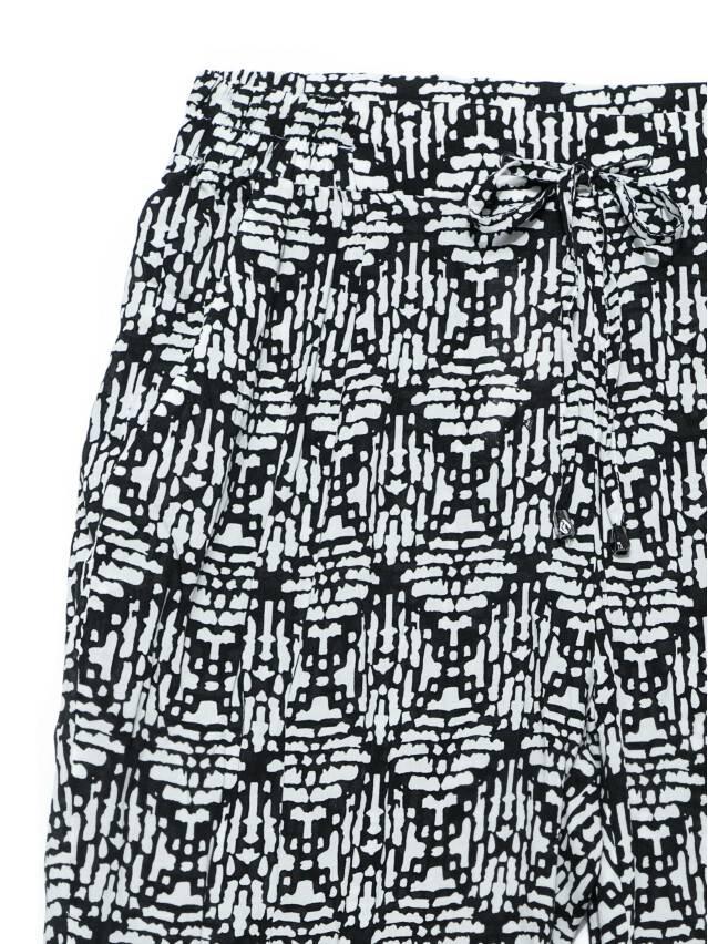 Women's trousers CONTE ELEGANT SAMIRA, s.164-64-92, black-white - 4