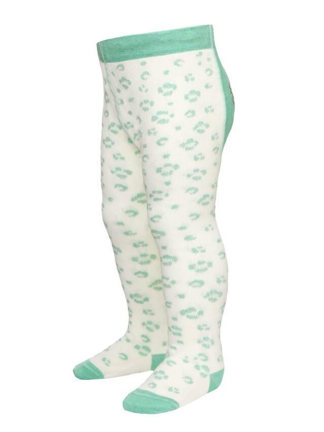 Children's tights CONTE-KIDS TIP-TOP, s.62-74 (12),382 cream-light green - 4