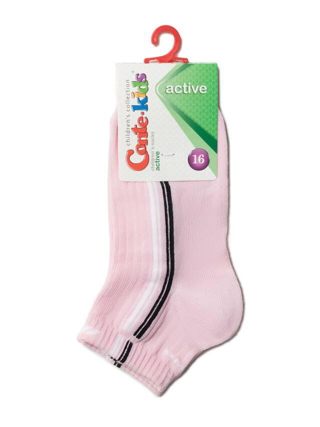 Children's socks CONTE-KIDS ACTIVE, s.16, 158 light pink - 2