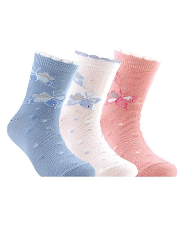 Children's socks CONTE-KIDS TIP-TOP, s.18, 086 light pink - 1