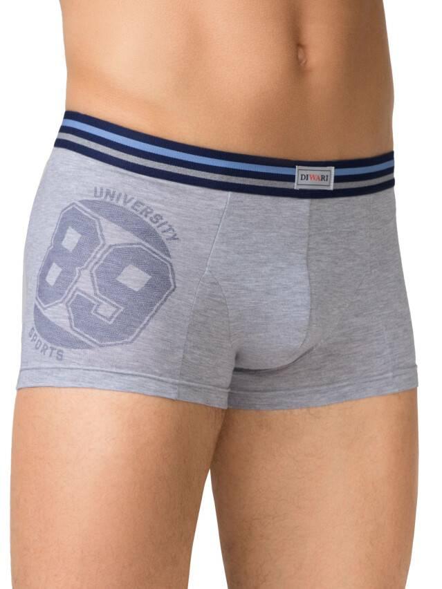 Men's pants DiWaRi TATTOO MSH 429, s.102,106/XL, fumo - 1