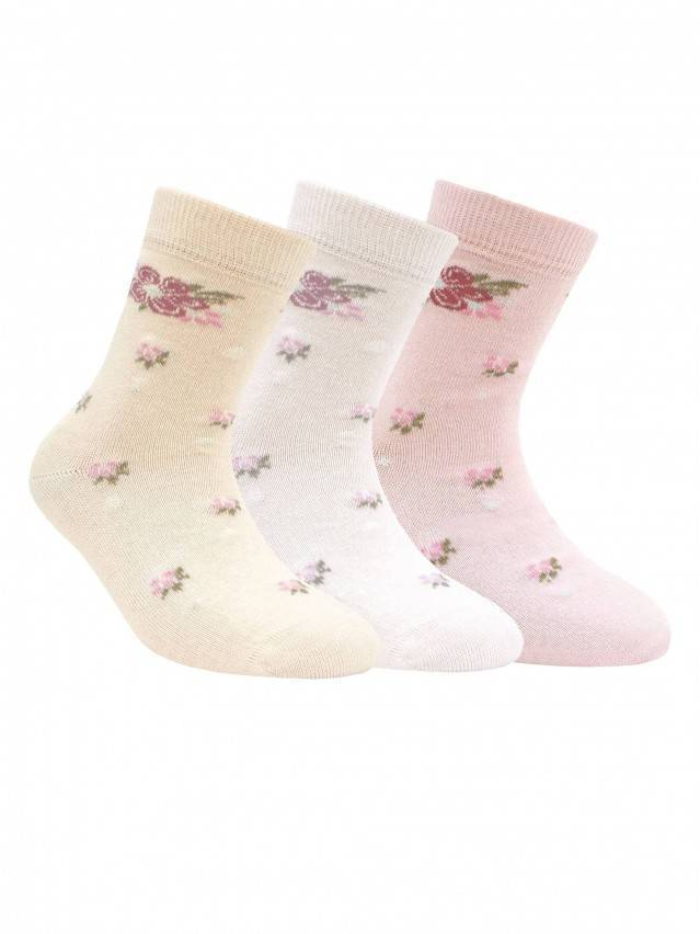 Children's socks CONTE-KIDS TIP-TOP, s.16, 182 light pink - 1