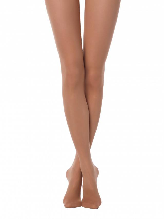 Matte tights with the effect of