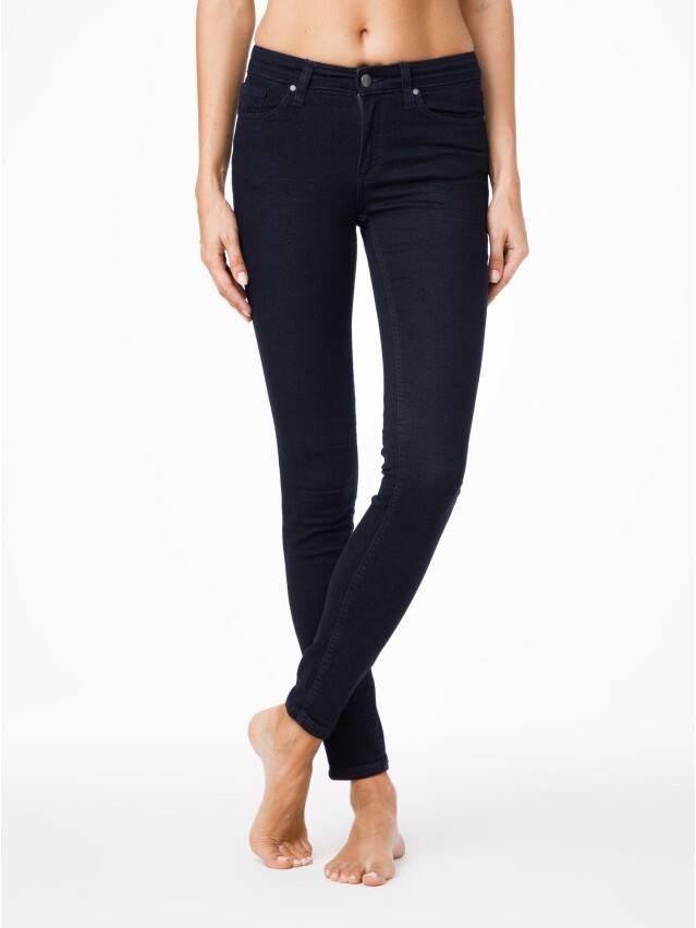 Denim trousers CONTE ELEGANT 623-100R, s.170-102, navy - 1