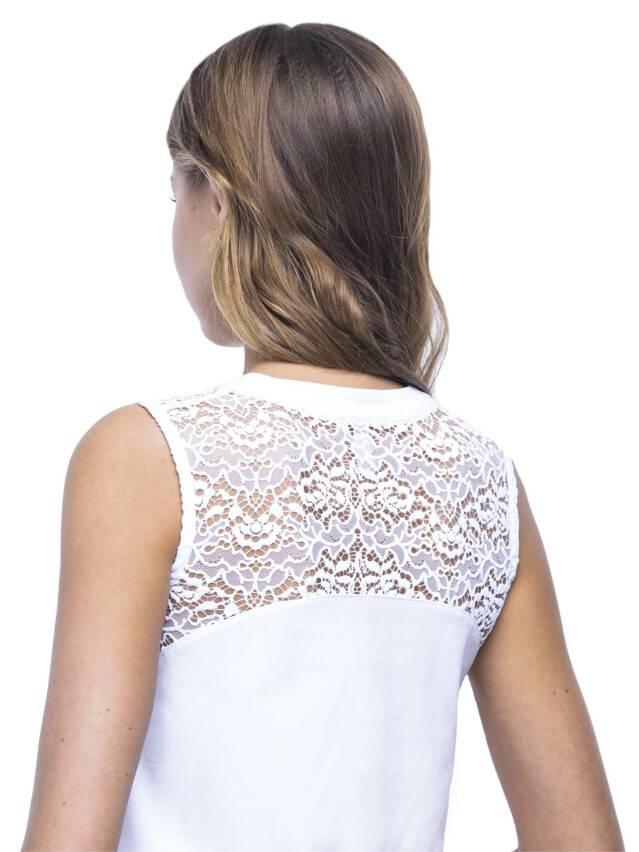 Women's polo neck shirt CONTE ELEGANT LD 514, s.158,164-84, white - 3
