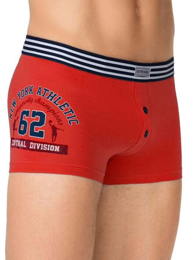 Men's pants DiWaRi TATTOO SHORTS 395, s.102,106/XL, red - 1