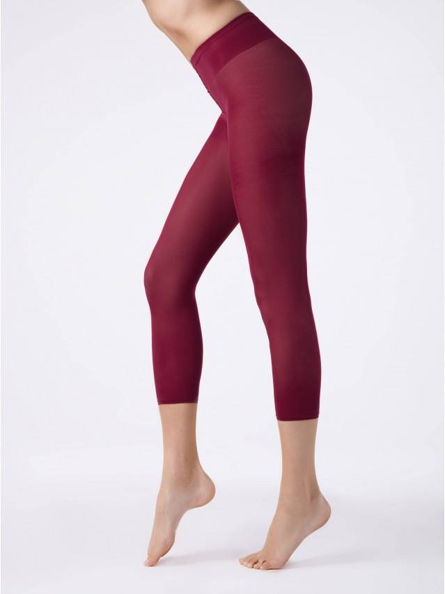 Women's leggings CONTE ELEGANT COLOURS LEGGINS, s.2, bordo - 1