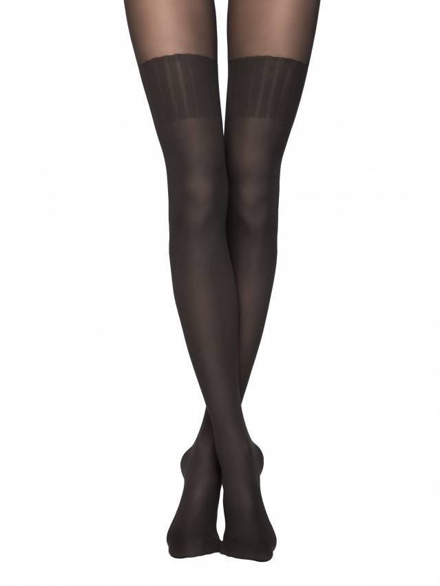 Women's tights CONTE ELEGANT ERICA, s.2, nero - 1