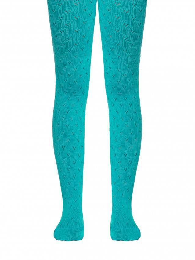Children's tights CONTE-KIDS MISS, s.104-110 (16),404 turquoise - 1