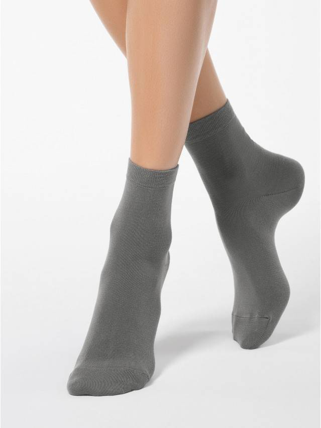Women's socks CONTE ELEGANT CLASSIC, s.23, 000 dark grey - 1