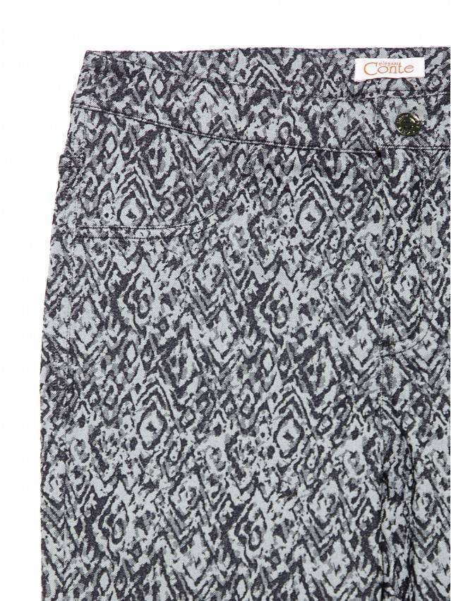 Women's trousers CONTE ELEGANT ERIDA, s.164-64-92, black - 3