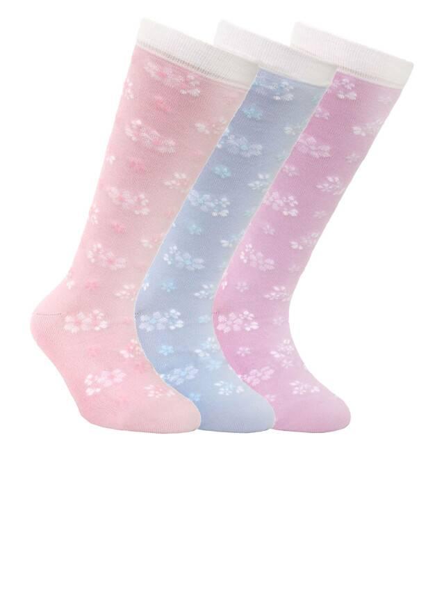 Children's knee high socks CONTE-KIDS TIP-TOP, s.20, 039 pale violet - 1