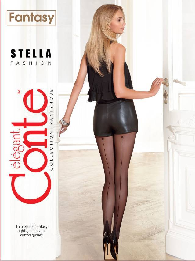Women's tights CONTE ELEGANT STELLA, s.2, nero - 2