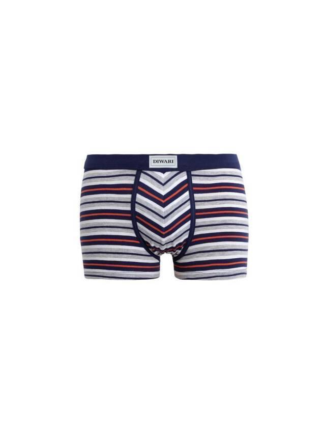 Men's pants DiWaRi BAND SHORTS 358, s.102,106/XL, grey - 1