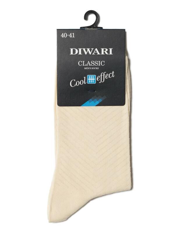 Men's socks DiWaRi CLASSIC COOL EFFECT, s. 40-41, 010 beige - 2