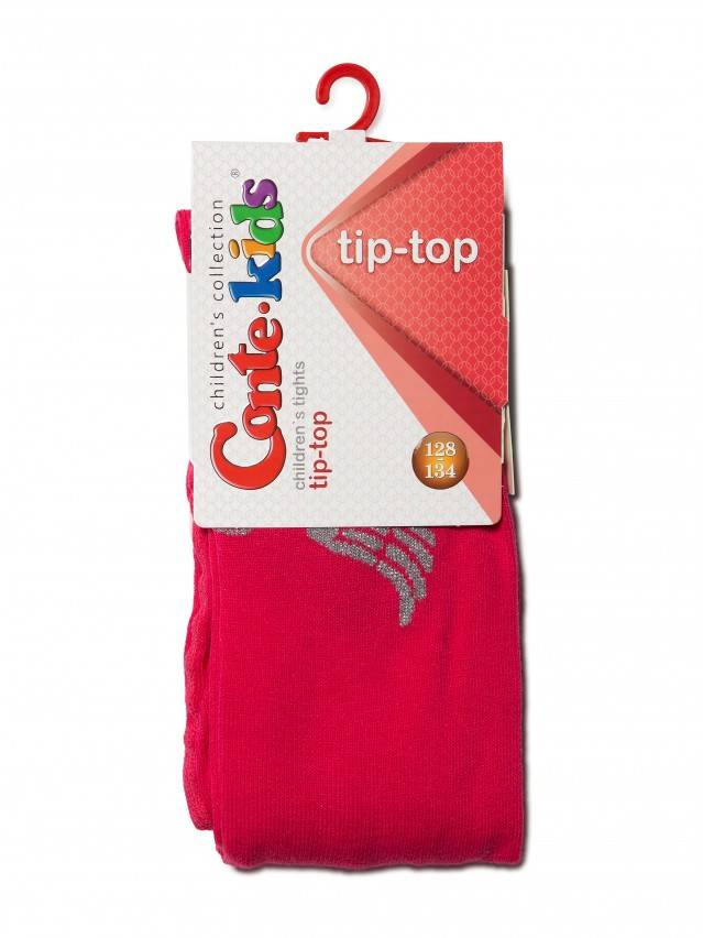 Children's tights CONTE-KIDS TIP-TOP, s.128-134 (20),411 raspberry pink - 3