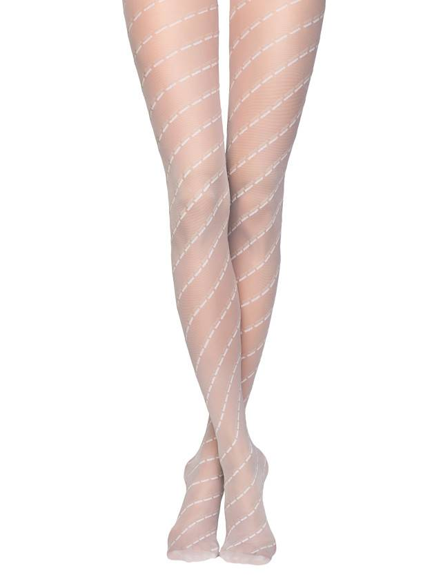 Women's tights CONTE ELEGANT FABIANE, s.2, bianco - 1