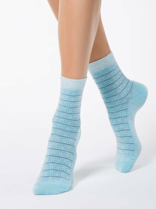 Women's socks CONTE ELEGANT COMFORT, s.23, 047 pale turquoise - 1