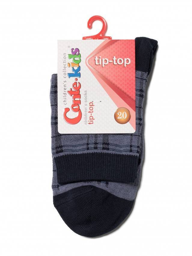 Children's socks CONTE-KIDS TIP-TOP, s.20, 196 dark denim - 2