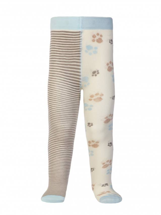 Children's tights CONTE-KIDS TIP-TOP, s.62-74 (12),356 cappuccino-grey - 2