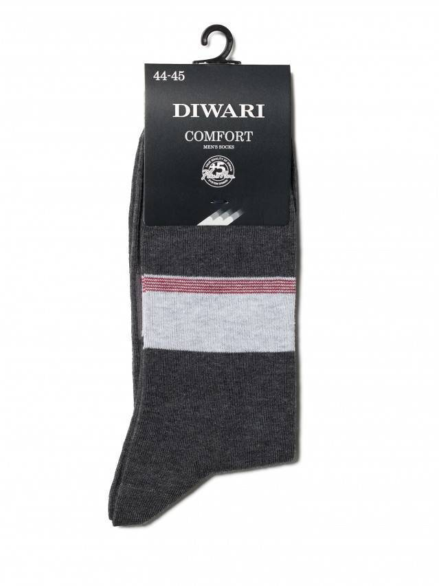 Men's socks DiWaRi COMFORT, s. 40-41, 039 dark grey - 2