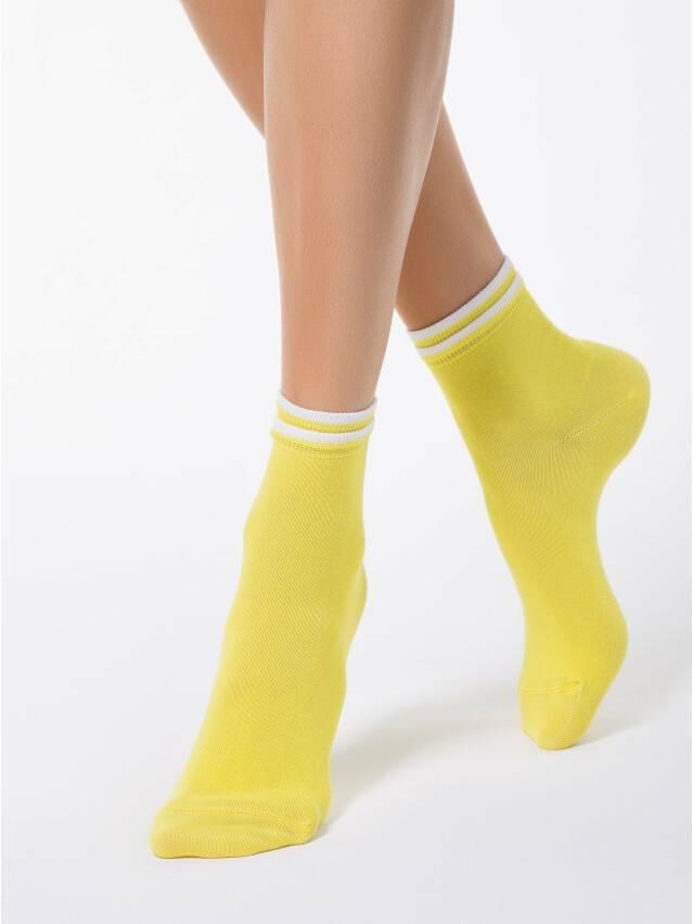 Women's socks CONTE ELEGANT CLASSIC, s.23, 010 yellow - 1