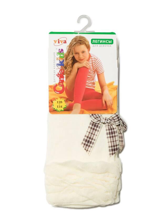 Leggings for girls CONTE-KIDS VIVA, s.140-146, 000 beige - 2