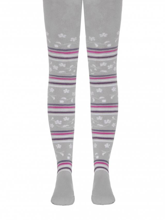 Children's tights CONTE-KIDS SOF-TIKI, s.104-110 (16),398 grey - 1