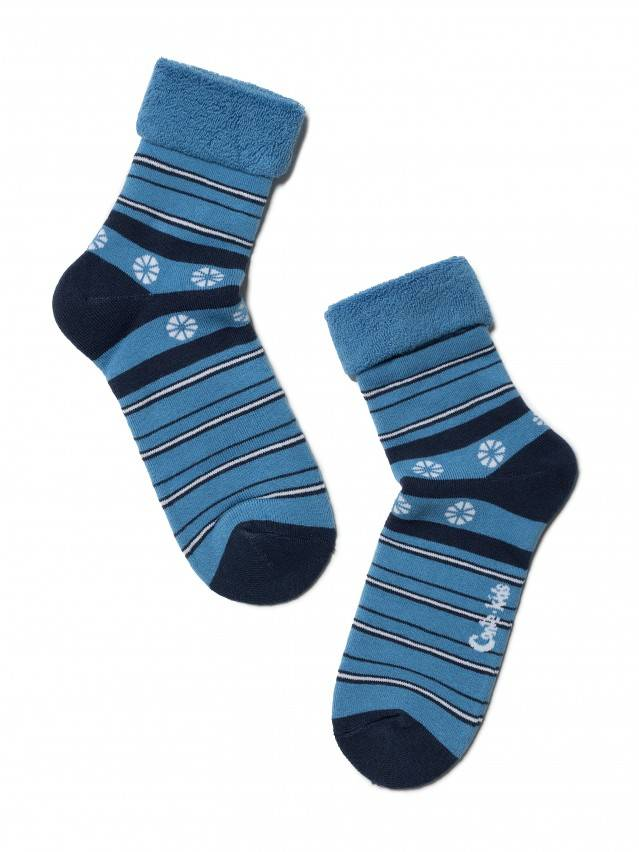 Children's socks CONTE-KIDS SOF-TIKI, s.22, 043 blue - 1