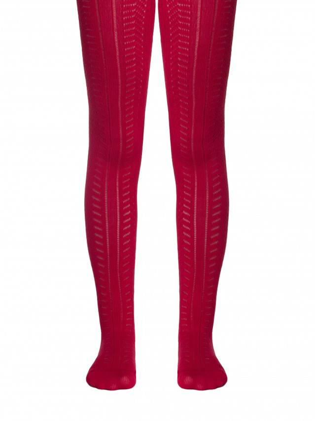 Children's tights CONTE-KIDS MISS, s.128-134 (20),267 wine-coloured - 1
