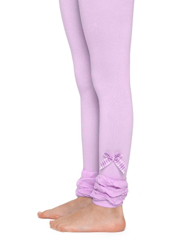 Leggings for girls CONTE-KIDS VIVA, s.116-122, 000 pale violet - 1