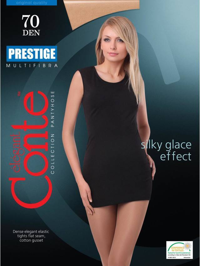 Women's tights CONTE ELEGANT PRESTIGE 70, s.2, nero - 2