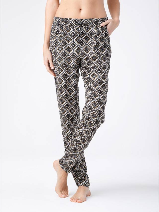 Women's trousers CONTE ELEGANT CHANTAL, s.164-64-92, yellow - 1
