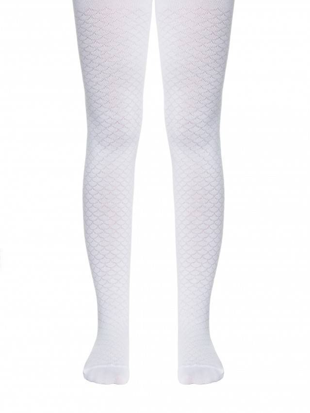 Children's tights CONTE-KIDS TIP-TOP, s.116-122 (18),364 white - 1