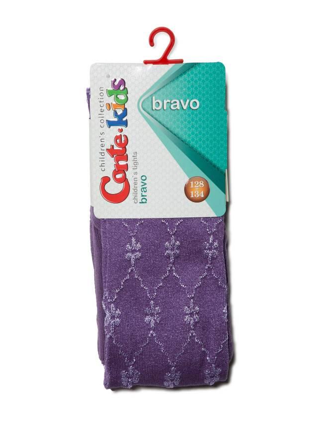 Children's tights CONTE-KIDS BRAVO, s.116-122 (18),375 dark lilac - 2