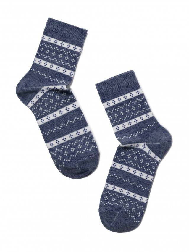 Women's socks CONTE ELEGANT CLASSIC, s.23, 062 dark denim - 2
