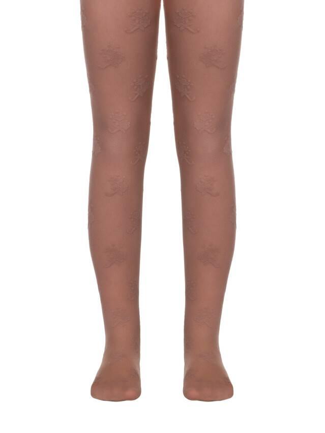 Fancy children's tights CONTE ELEGANT LISSA, s.104-110, natural - 1