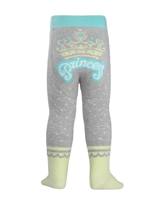 Children's tights CONTE-KIDS TIP-TOP, s.62-74 (12),383 grey-lettuce green - 2